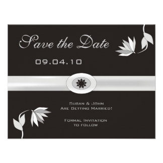 Classy Save the Date Announcement