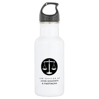Classy Scales of Justice | Law Office 532 Ml Water Bottle