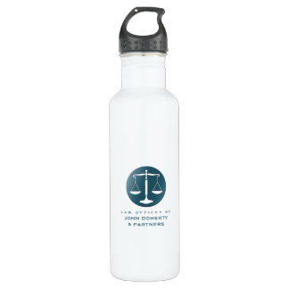 Classy Scales of Justice | Law Office 710 Ml Water Bottle