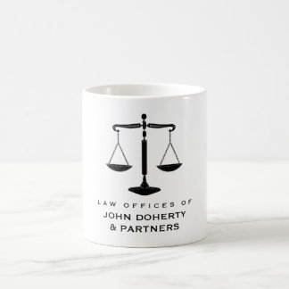 Classy Scales of Justice | Law Office Coffee Mug