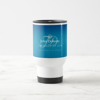 Classy Scales of Justice | Law Office Travel Mug