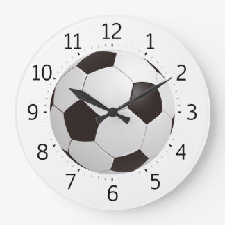 Classy Soccer Ball | Cool Gifts Large Clock