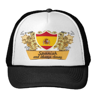 Classy Spanish Trucker Hat