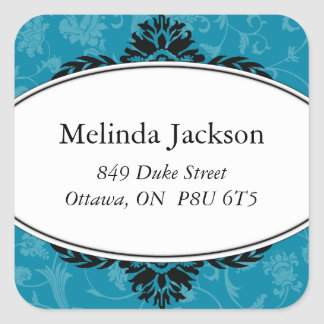 Classy Square Adress Labels
