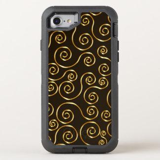 Classy Stylish Design OtterBox Defender iPhone 8/7 Case