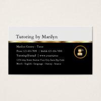 Tutor business cards akbaeenw tutor business cards colourmoves