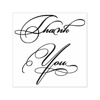 Classy Thank You Self-inking Stamp