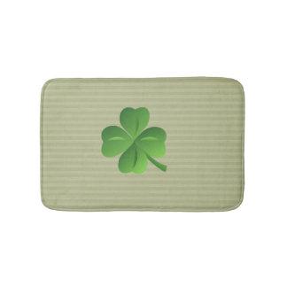 Classy Trendy  Irish Lucky Shamrock Bath Mat