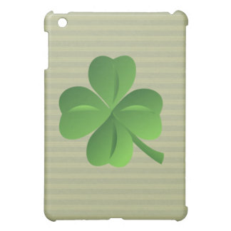 Classy Trendy  Irish Lucky Shamrock Case For The iPad Mini