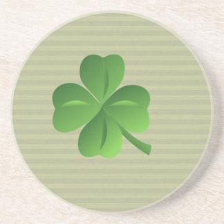 Classy Trendy  Irish Lucky Shamrock Coaster