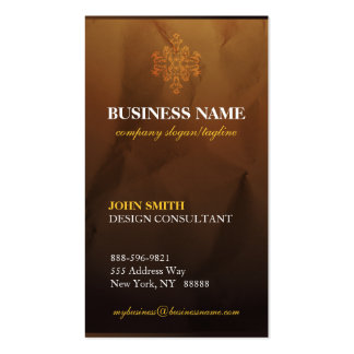 Classy Upscale Modern Damask  Business Cards