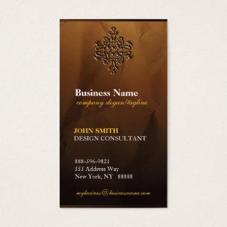 Classy Upscale Modern Damask  Business Cards