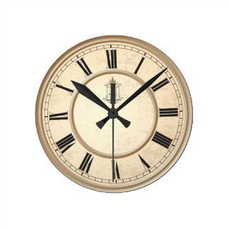 Classy Vintage Birdcage Decorative Clock
