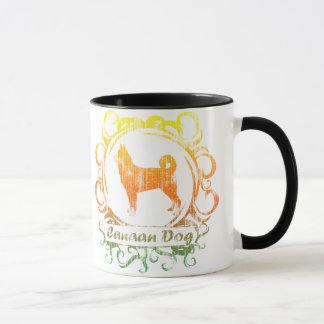 Classy Weathered Canaan Dog Mug