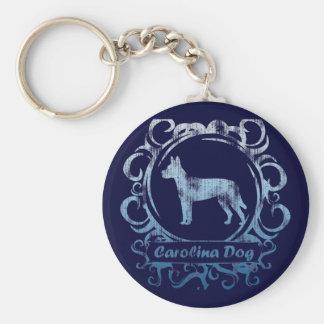 Classy Weathered Carolina Dog Key Ring