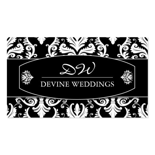 Classy  Wedding Planner Business Card