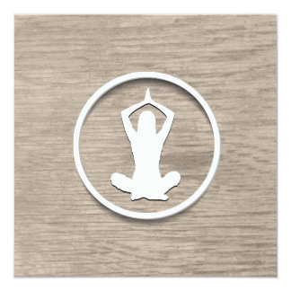 Classy Yoga Invitation