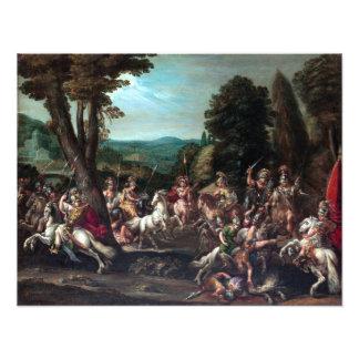 Claude Déruet Triumph of the Amazons Photo Print