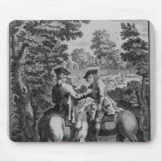 Claude Duval robbing Squire Roper Mouse Pads