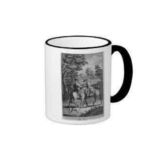 Claude Duval robbing Squire Roper Ringer Coffee Mug