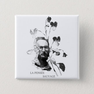 Claude Levi-Strauss 15 Cm Square Badge