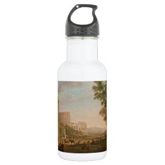 Claude Lorrain - Ruins of the Roman forum 532 Ml Water Bottle