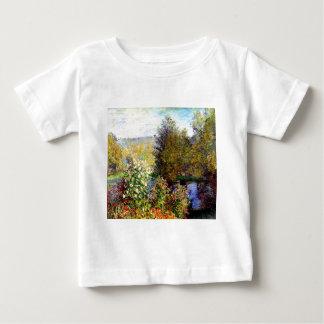Claude Monet A Corner of the Garden At Montgeron Baby T-Shirt