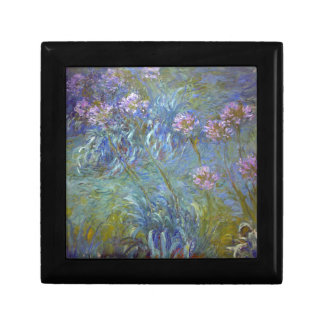Claude Monet - Agapanthus Classic Flowers Painting Gift Box