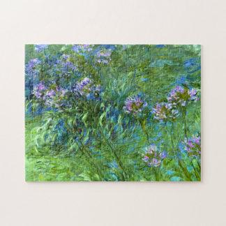 Claude Monet: Agapanthus Jigsaw Puzzle