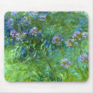 Claude Monet: Agapanthus Mouse Pad