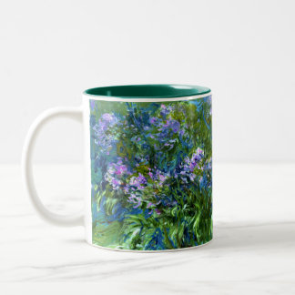 Claude Monet: Agapanthus Two-Tone Coffee Mug