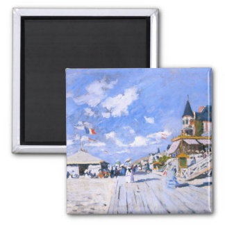 Claude Monet: At the Beach of Trouville Magnet