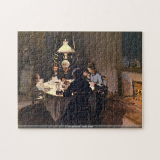 Claude Monet - At the Table puzzle