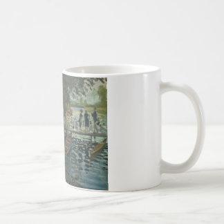 Claude Monet - Bathers at La Grenouillere Coffee Mug