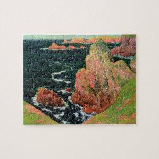 Claude Monet | Belle Ile Jigsaw Puzzle