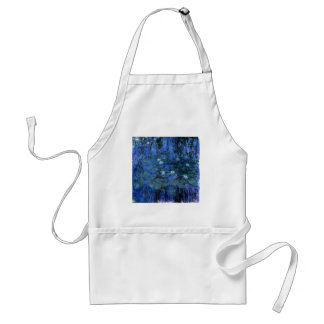 Claude Monet Blue Water Lilies Standard Apron