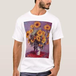 Claude Monet - Bouquet of Sunflowers T-Shirt