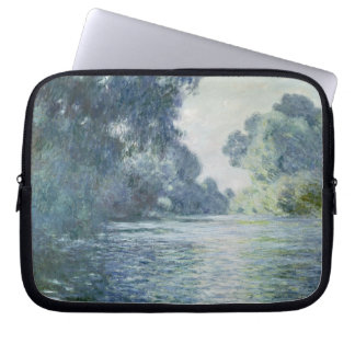 Claude Monet | Branch of the Seine near Giverny Laptop Sleeve