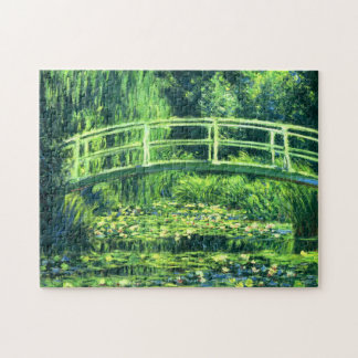 Claude Monet: Bridge Over a Pond of Water Lilies Jigsaw Puzzle
