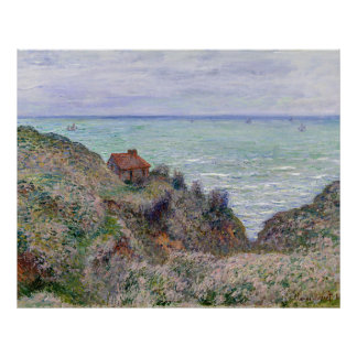 Claude Monet Cabin Of The Customs Watch Poster