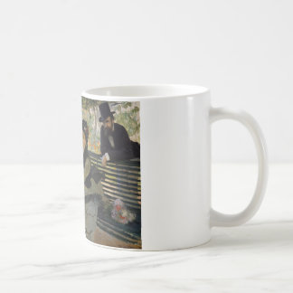 Claude Monet - Camille Monet on a Bench Coffee Mug