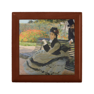 Claude Monet - Camille Monet on a Bench Gift Box