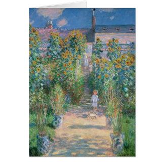 Claude Monet Card
