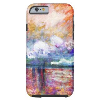 Claude Monet Charing Cross Bridge Tough iPhone 6 Case