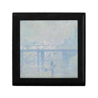 Claude Monet - Charing Cross Bridge. Classic Art Gift Box
