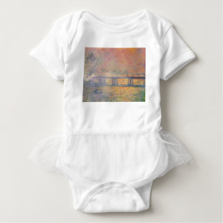 Claude Monet - Charing Cross Bridge Saint Louis Baby Bodysuit