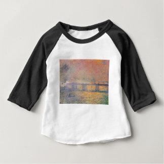 Claude Monet - Charing Cross Bridge Saint Louis Baby T-Shirt