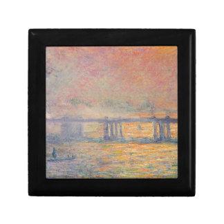 Claude Monet - Charing Cross Bridge Saint Louis Gift Box