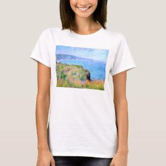 Claude Monet: Cliff Near Pourville T-Shirt