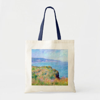 Claude Monet: Cliff Near Pourville Tote Bag